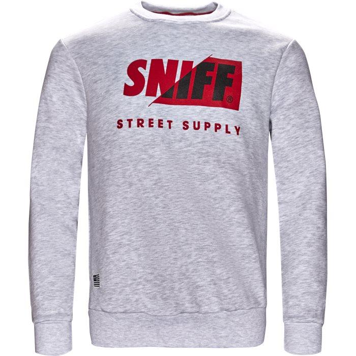 Calgary - Sweatshirts - Regular - Hvid